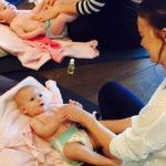 How baby massage helps your baby's development